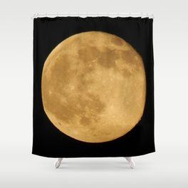 Friday June 13 Full Honey Moon Shower Curtain