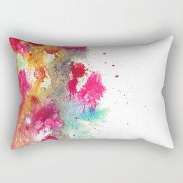 Magenta Nebulous Rectangular Pillow