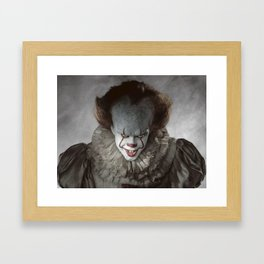 Pennywise The Clown Framed Art Print
