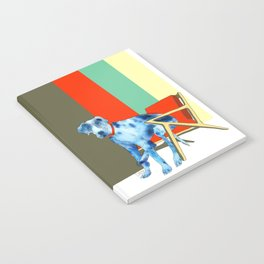 Great Dane in Chair #1 Notebook