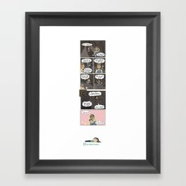 TPG Comic: Self Loathing  Framed Art Print