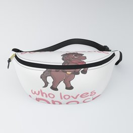 Just A Girl Who Loves Horses Horse Pony Fanny Pack