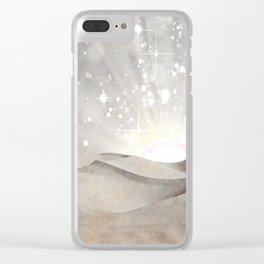 MAGIC DESERT Clear iPhone Case