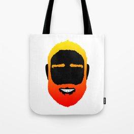 BEARD IS THE NEW BLACK Tote Bag
