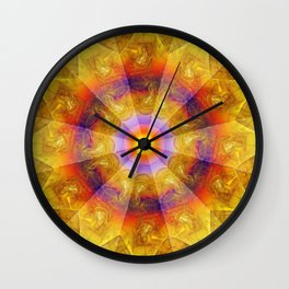 Smoke Flame Wall Clock