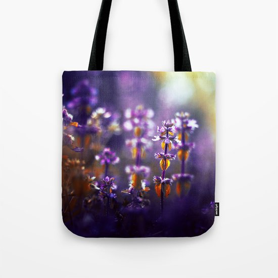 Over the Gold and Hills Tote Bag