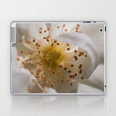 White bloom Laptop & iPad Skin