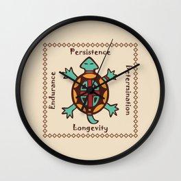 Turtle animal spirit Wall Clock