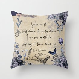 First Dream - Will Herondale Throw Pillow