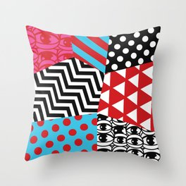 pattern bonanza Throw Pillow