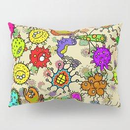 Doodle Germs Pillow Sham