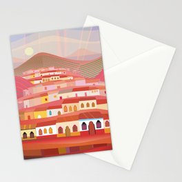 Afternoon in Guatemala Stationery Cards