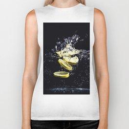 Lemon Plunge Biker Tank
