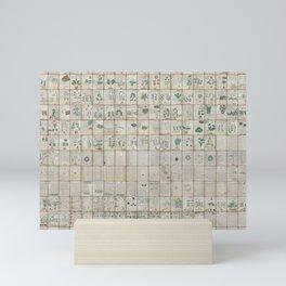 The Complete Voynich Manuscript - Natural Mini Art Print