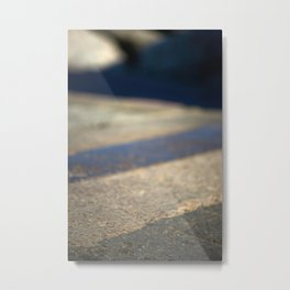 Abstract pavement Metal Print
