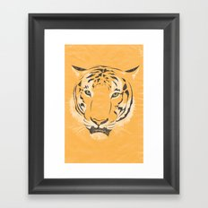 The Tiger Framed Art Print