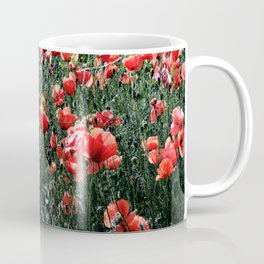 Poppies In A Field Coffee Mug