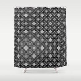 6 Oriental patterns Shower Curtain