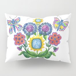 Butterfly Playground Pillow Sham