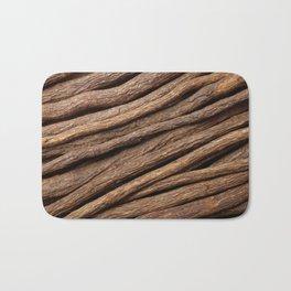 Licorice root in diagonal lines Bath Mat