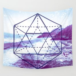 The Elements Geometric Nature Element of Water Wall Tapestry