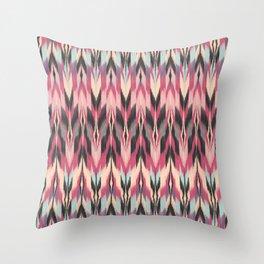 Dreamhaze Tribal Throw Pillow