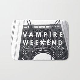 Vampire Weekend / George Washington Bridge Bath Mat