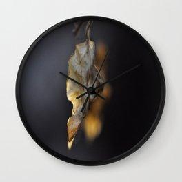 Dancing Leaf Wall Clock