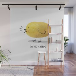 potato-cheeps Wall Mural