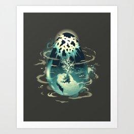 Trigger of Life Art Print