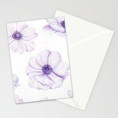 Anemones 2 White #society6 #buyart Stationery Cards