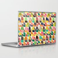 ikat Laptop & iPad Skins featuring ikat weave by Sharon Turner
