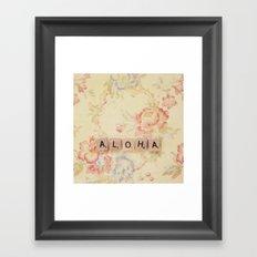 Aloha Framed Art Print