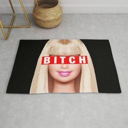 Barbie Bitch Rug