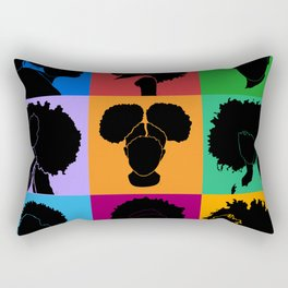 FOR COLORED GIRLS COLLECTION COLLAGE Rectangular Pillow