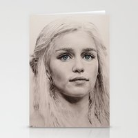 targaryen Stationery Cards featuring Daenerys Targaryen  by Maddy Kouns