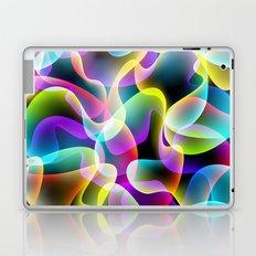 colorful swirls Laptop & iPad Skin