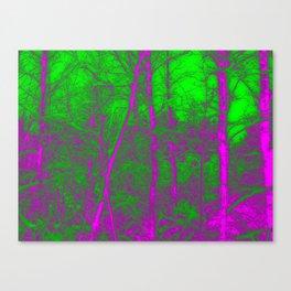 Acid Forest Canvas Print