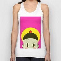 poker Tank Tops featuring Poker Face by Cyborgking