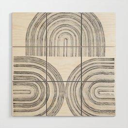 Line drawing 5 Wood Wall Art