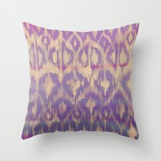 Ikat2 Throw Pillow