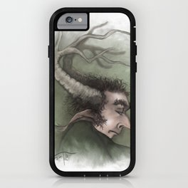 Fairy with Antlers iPhone Case