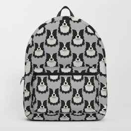 Black Border Collie Backpack