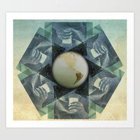milk Art Prints featuring milk by Vin Zzep