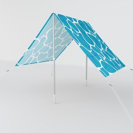 The Great Sea: Graphic Ocean Water Pattern Sun Shade