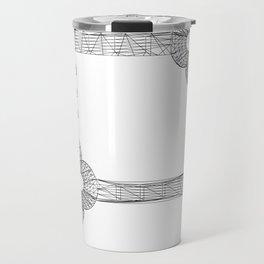 CASTLE KEYS w/b Travel Mug