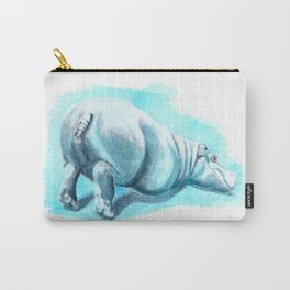 Bums-up Baby Hippo Fantasia Ballet Carry-All Pouch