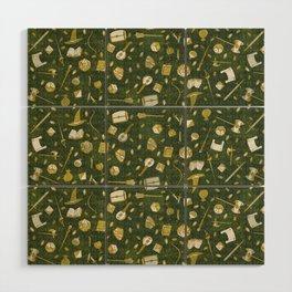 RPG Patterns Wood Wall Art