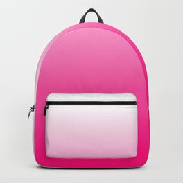Hot Pink Ombre Backpack