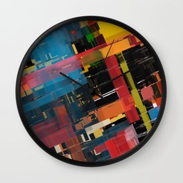 Abstract Composition 608 Wall Clock